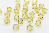 Crystal Verde 5301/5328 Swarovski &reg: Crystal with third-party coating,Bicone Bead