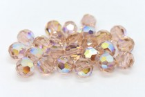 Vintage Rose AB 5000 Swarovski Elements Crystal Round Bead