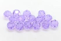 Violet 5000 Swarovski Crystal Round Bead
