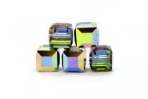 Vitrail Medium 5601 Swarovski Elements Crystal Cube Bead