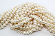 Freshwater Pearls, Potato,A Grade,6-6.5mm, White