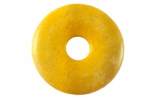 Yellow Jasper (Natural) A Grade Gemstone Donut Pendant