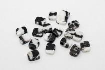 Zebra Jasper (Natural) Flat Rectangle Gemstone Beads