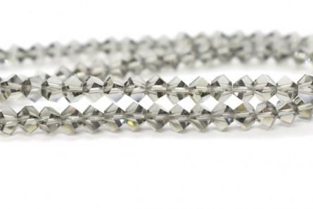 Black Diamond Swarovski Crystal Faceted Simplicity Beads 5310