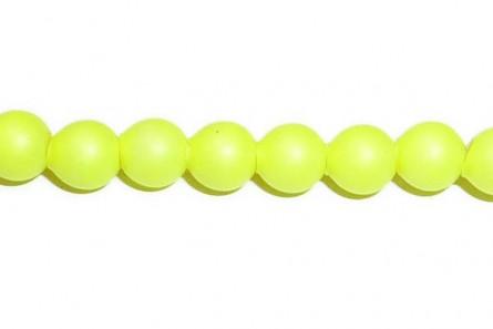 Crystal Neon Yellow 5810 Swarovski Elements Crystal Pearl Round
