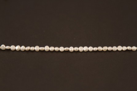 Irregular Potato Freshwater Pearls - White