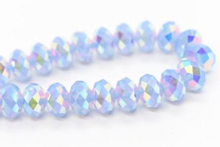Air Blue Opal AB2X 5040 Swarovski Crystal Rondelle Bead