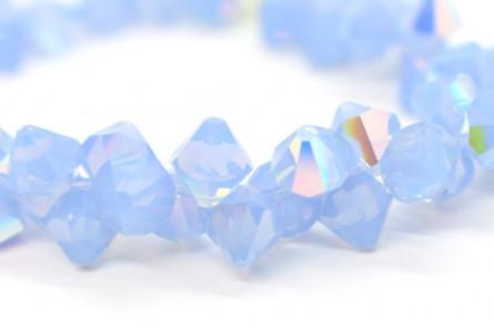Air Blue Opal AB 6301 Swarovski Crystal Bicone Pendant