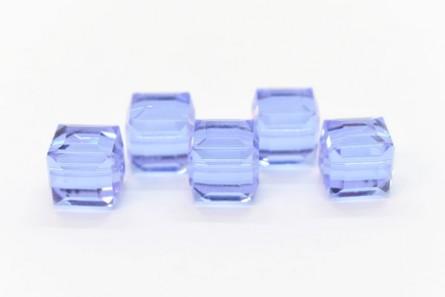 Alexandrite 5601 Swarovski Crystal Cube Beads