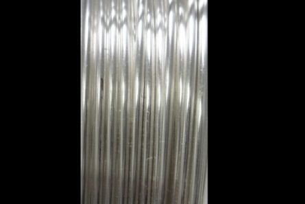 Tarnish Resistant Silver Artistic Wire (18 Gauge)