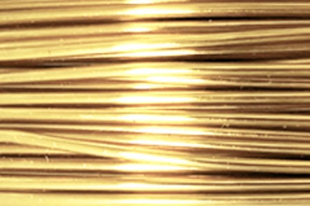 Tarnish Resistant Brass Artistic Wire (20 Gauge)