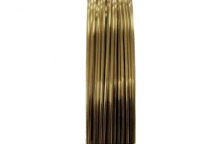 Antique Brass Artistic Wire (26 Gauge)