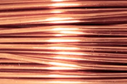 Bare Copper Artistic Wire (18 Gauge)