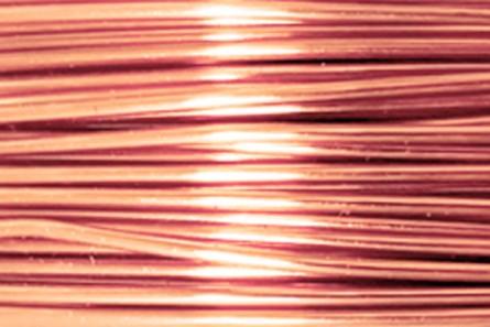 Bare Copper Artistic Wire (22 Gauge)