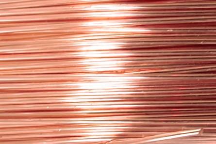 Bare Copper Artistic Wire (24 Gauge)