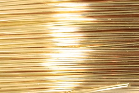 Tarnish Resistant Brass Artistic Wire (26 Gauge)