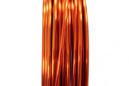 Tangerine Artistic Wire (18 Gauge)