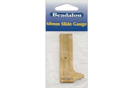 Beadalon® 60mm Slide Gauge