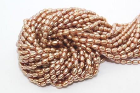 Rice Freshwater Pearls - Beige