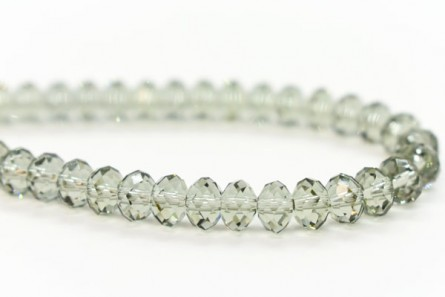 Black Diamond Swarovski Crystal Faceted Briolette Beads 5040