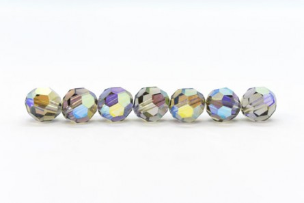 Black Diamond AB2x Swarovski Crystal Round Beads 5000