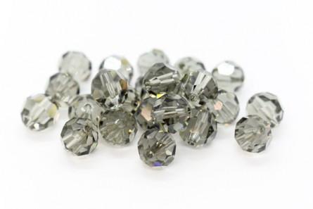 Black Diamond Swarovski Crystal Round Beads 5000
