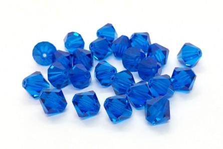 Capri Blue Swarovski Crystal Bicone Beads 5301/5328 - Factory Pack Quantity