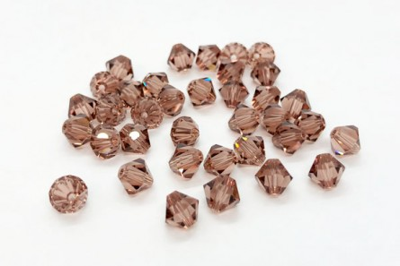 Colorado Topaz Swarovski Crystal Bicone Beads 5301 - Factory Pack