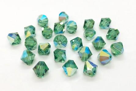 Erinite AB Swarovski Crystal Bicone Beads 5301/5328 - Factory Pack