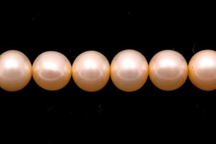 Potato Freshwater Pearls - Peach - A Grade - 6mm