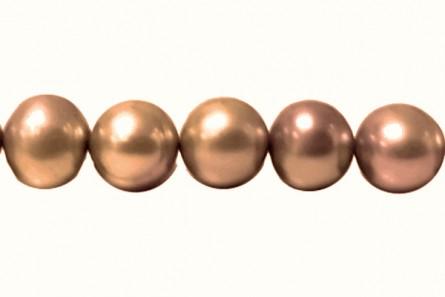 Potato Freshwater Pearls - Copper ( Light )  - A Grade