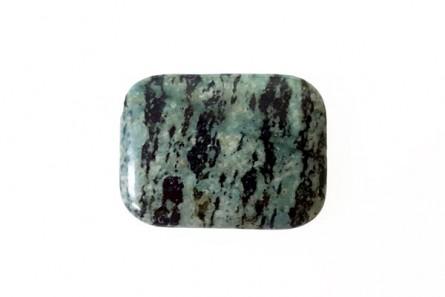 Zebra Jasper, Green, Natural, A Grade, Rectangle Gemstone Bead