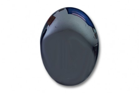 Hematite, Natural,  A Grade, Oval Cabochon - 30x40mm