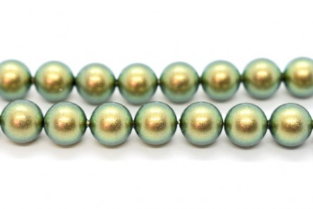 Crystal Iridescent Green - Swarovski Round Pearls 5810/5811