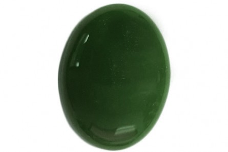 Canadian / Nephrite Jade, Natural, AA Grade Oval Cabochon