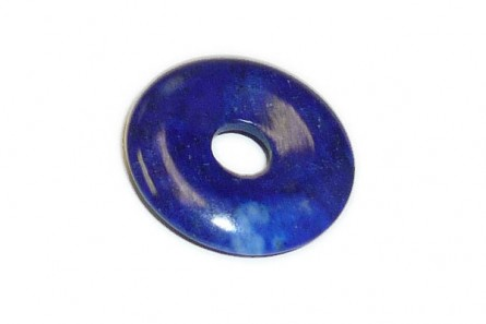 Lapis ( Natural ) A Grade Donut Gemstone Pendant