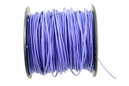 Cord, leather (dyed), purple,light violet, round, greek. Sold per foot.