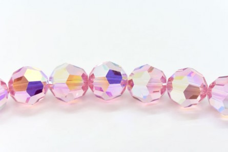 Light Rose AB Swarovski Crystal Round Beads 5000 - Factory Pack Quantity