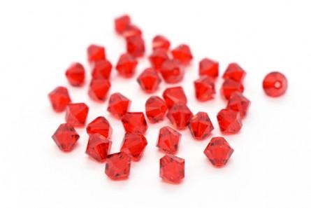 Light Siam 5301/5328 Swarovski Crystal Bicone Bead