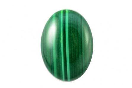 Malachite, Natural, AA Grade, Oval Cabochon