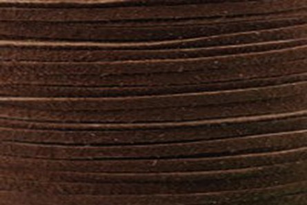 Brown Flat Suede Lace - 2mm