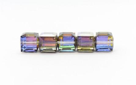 e6dfc1adf313 Swarovski Crystal Cube Crystal Meridian Blue