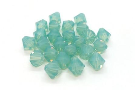 Pacific Opal 5301/5328 Swarovski Elements Crystal Bicone Bead
