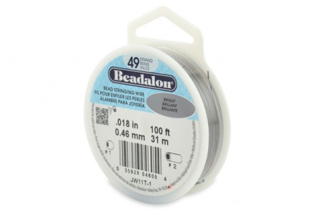Beadalon® Bead Stringing Wire - 49 Strands - .018