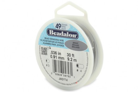 Beadalon® Bead Stringing Wire - 49 Strands - .036