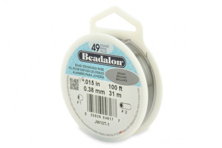 Beadalon® Bead Stringing Wire - 49 Strand - .015