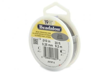 Beadalon® Bead Stringing Wire - 19 Strands - .010