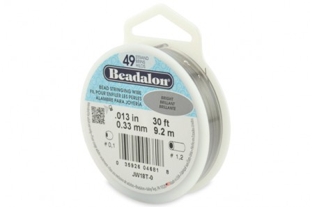 Beadalon® Bead Stringing Wire - 49 Strands - .013