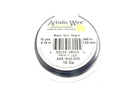 Black Artistic Wire (18 Gauge)
