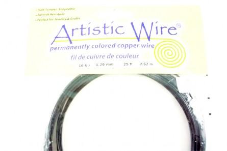 Black Artistic Wire (16 Gauge)